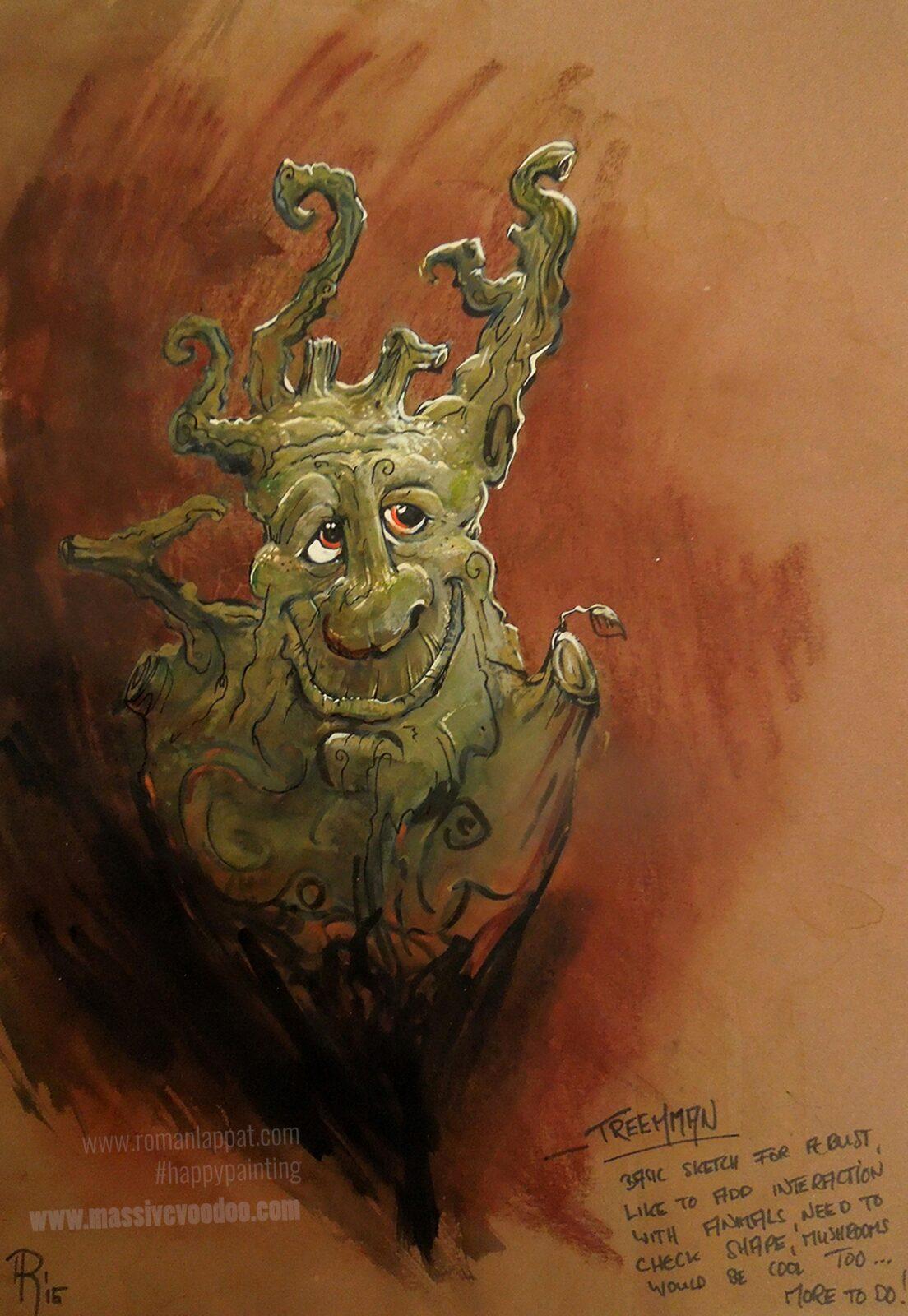 Romanlappat Treeman